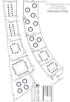 EPNEC 3rd Floor Standard (Default) Sets